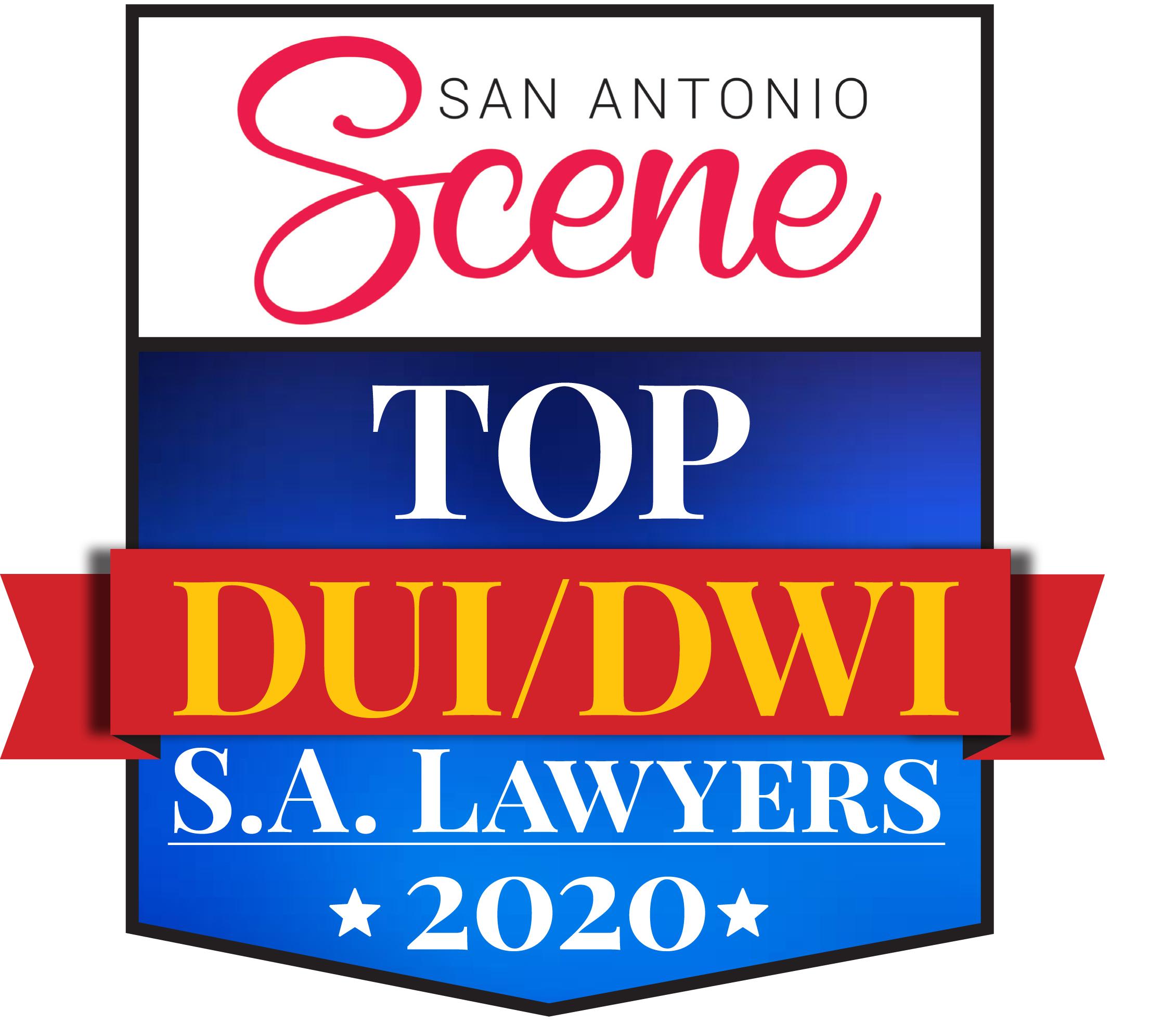 S.A. Scene Top DUI Lawyers 2020